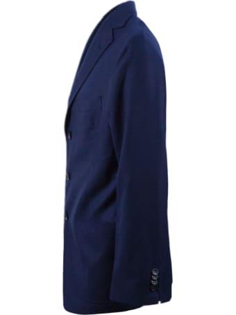 Sartorio Napoli Blue Wool Blazer