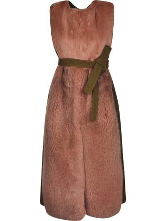 Blancha Fur Belted Gilet