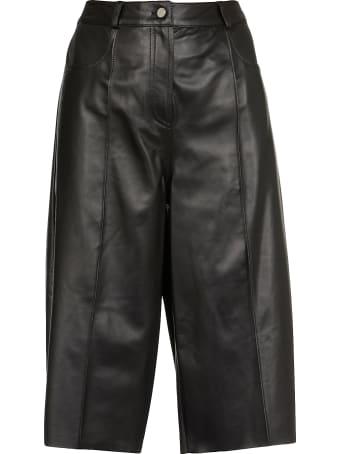 DROMe Soft Leather Shorts