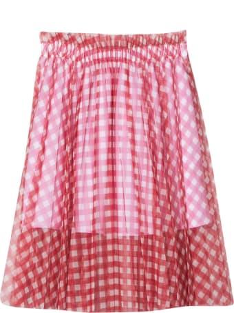 Philosophy di Lorenzo Serafini Checkered Midi Skirt