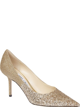 Jimmy Choo Love Glittery Pumps