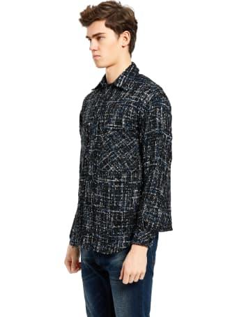 Charlie Luciano Tweed Overshirt Unisex