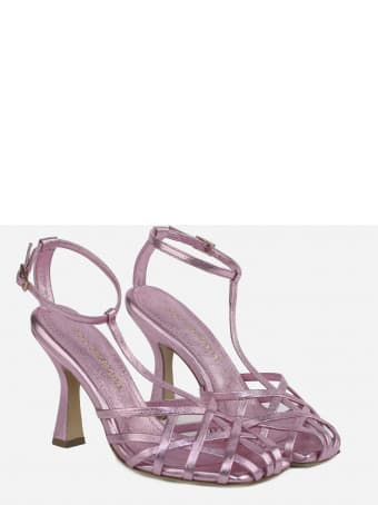 Aldo Castagna Lidia Sandals Made Of Leather
