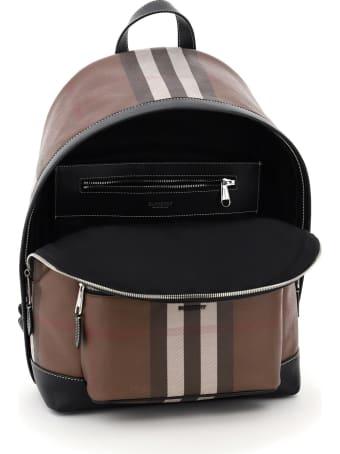 Burberry Jett Tartan Backpack