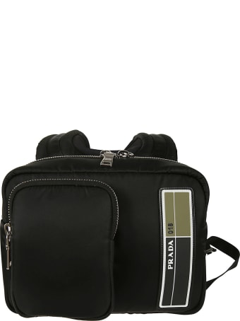 Prada Logo Backpack