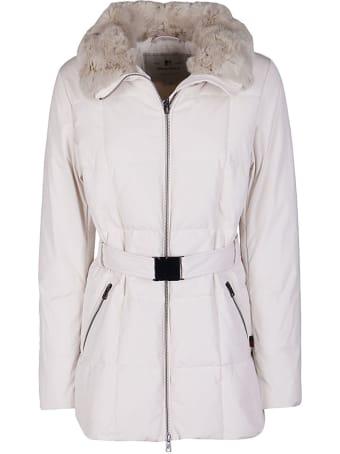 Woolrich White Down Jacket