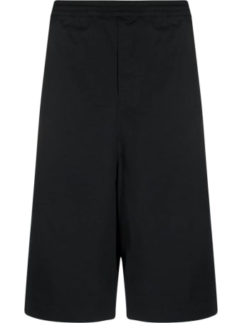AMBUSH Black Stretch Cotton Shorts