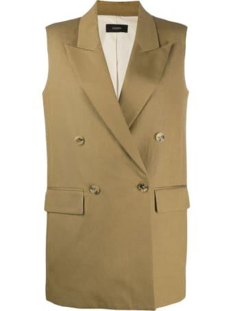 Joseph Sleeveless Double Breasted Jacket
