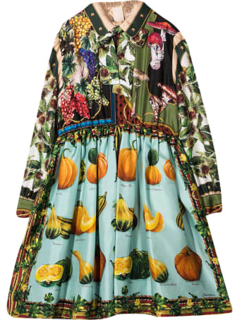 Dolce & Gabbana Patterned Dress