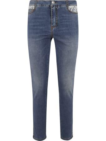 Ermanno Scervino Side Detailed Jeans