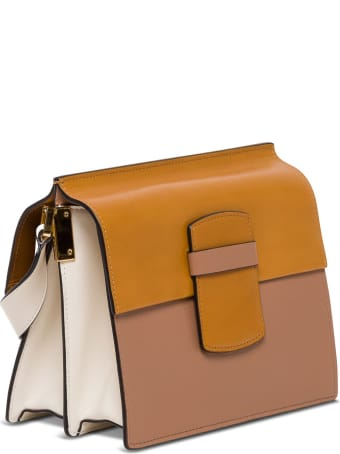 Marni Severine Medium Shoulder Bag In Leather