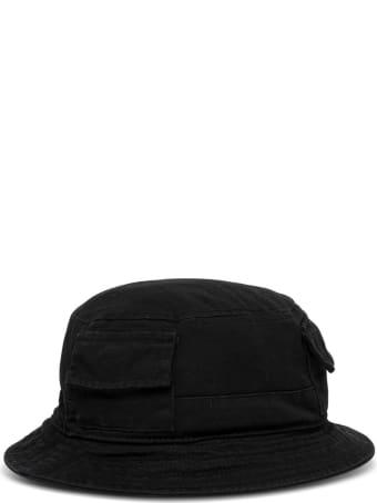 HERON PRESTON Buket Hat In Black Cotton