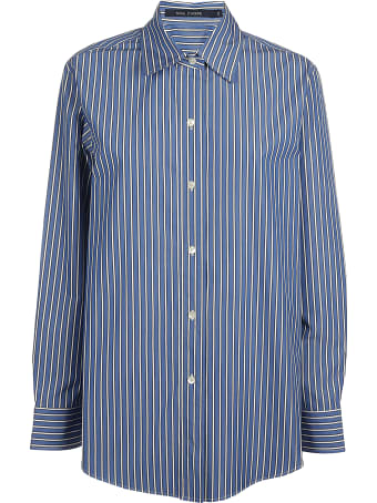 Sofie d'Hoore Long Slv Shirt With Rounded Botton