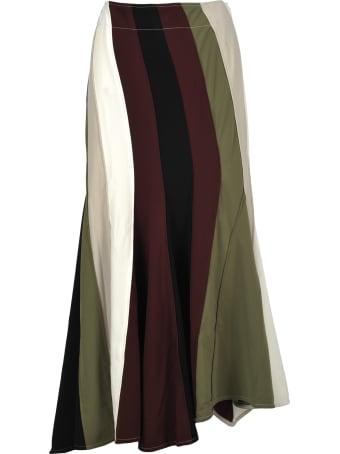 J.W. Anderson Jw Anderson Diagonal Skirt