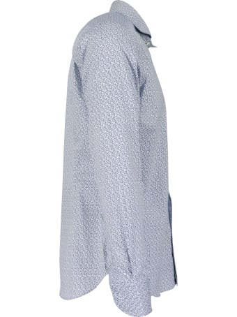 Guglielminotti 97% Cotton 3% Elastane Shirt