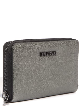 Love Moschino Love Moschino Gold Synthetic Wallet