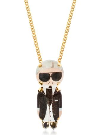 Bijoux de Famille Karl Chain Pendant Necklace