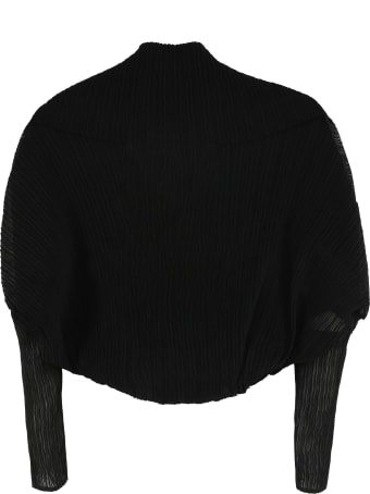 Max Mara Vesuvi2 Pleated Shrug