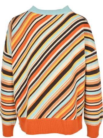 Marni Diagonal Stripes Sweater
