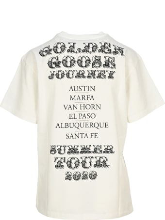Golden Goose Texas Tour Print T-shirt