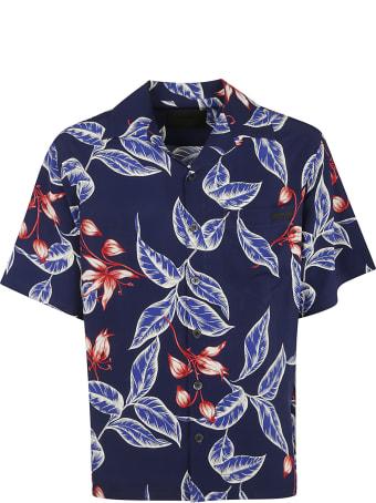 Prada Leaf Printed Shirt