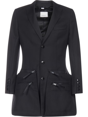 Burberry Adjustable Coat With Zippers