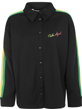 Palm Angels Miami Logo Track Shirt