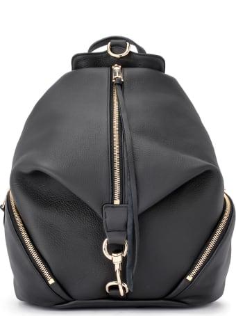 Rebecca Minkoff Julian Model Backpack In Black Leather