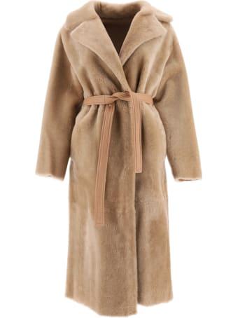 Blancha Reversible Shearling Coat
