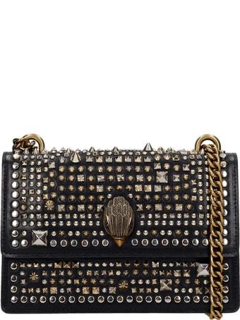 Kurt Geiger Shoulder Bag In Black Leather