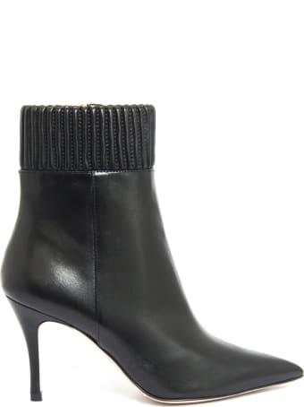 Roberto Festa Christa Ankle Boot In Black Leather