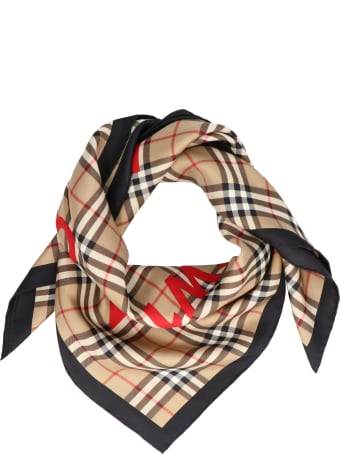 Burberry 'logo Horsferry Road' Foulard
