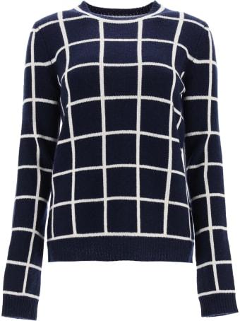 Gabriela Hearst Checkered Crew Neck Sweater