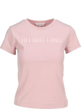 Helmut Lang T-shirt Crop Logo