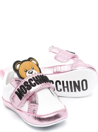 Moschino Cradle Shoes With Teddy Bear