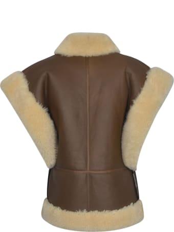 Celine Fur Applique Vest