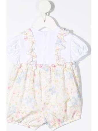 Il Gufo Floral Jersey Suit