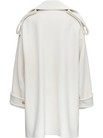 Marni Double-breasted Oversize Wool Coat