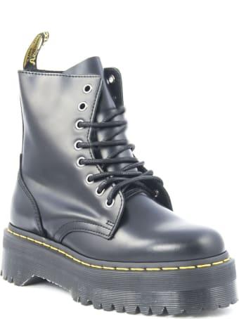 Dr. Martens Jadon Boots In Black Leather