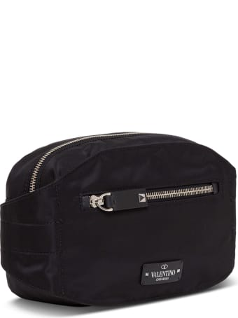 Valentino Garavani Nylon Belt Bag With Logo