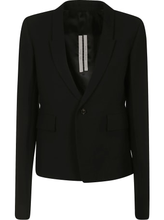 Rick Owens Single-buttoned Blazer