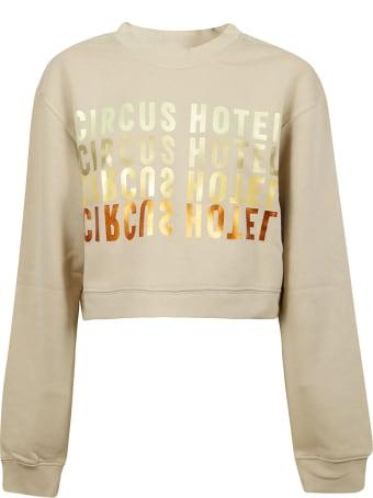 Circus Hotel Logo Print Sweatshirt