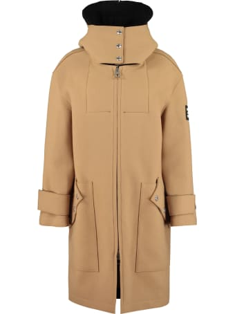 Burberry Hooded Wool Coat
