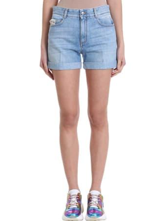 Stella McCartney Denim Blue Shorts