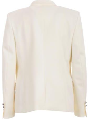 Balmain Buttons Jacket W/satin