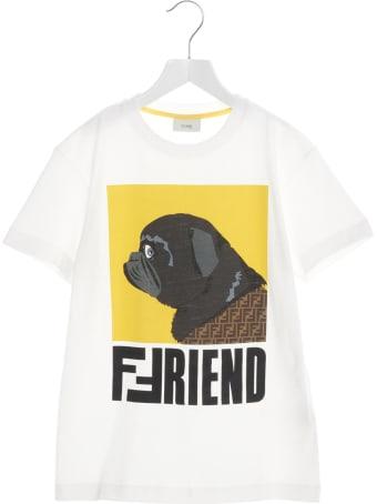 Fendi 'friend' T-shirt