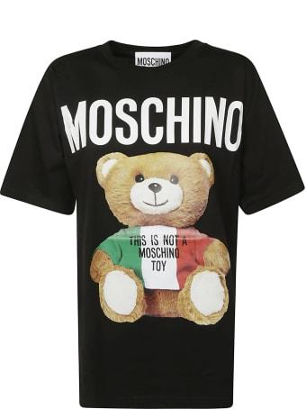 Moschino Oversized Bear Logo T-shirt