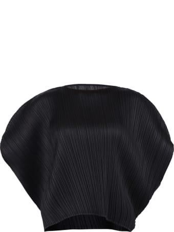 Issey Miyake Puff Sleeves Top