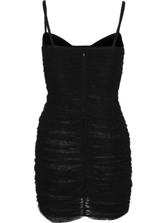 Alessandra Rich Lace Mini Dress