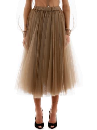 N.21 Tulle Midi Skirt